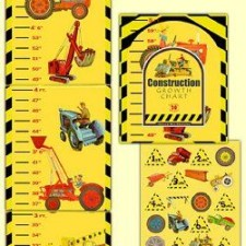 construction growth chart for kids