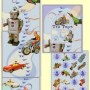Retro growth chart for kids