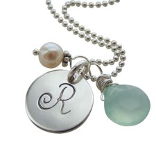 Elegant Initial Necklace/Charms