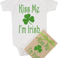 Kiss Me I'm Irish Onesie