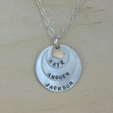 Layers of Love Moms Necklace