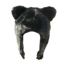 Wolf Fur Hat for Kids