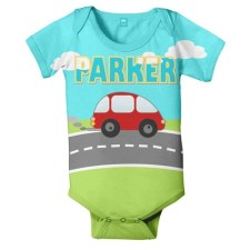 Car personalized onesie
