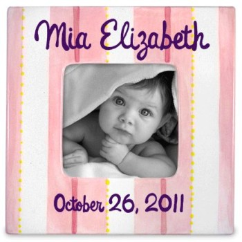 Personalized Baby Girl Picture Frame