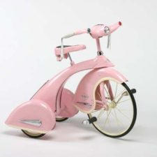 sky princess pink tricycle