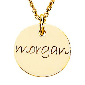 Personalized Gold Plated Name Necklace